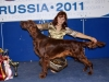 Лучший щенок, «Россия-2011» (на фото с Юлей)