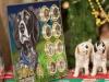 Серия 8 сувенирных монет 25 рублей - Год собаки 2018 - в планшете