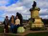 In Stratford-upon-Avon with our friends Wendy and Mark Lewis