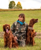 Светлана Жуковская и ее собаки: Contario Ode Mersedes, Iceberry Zimniy Sad